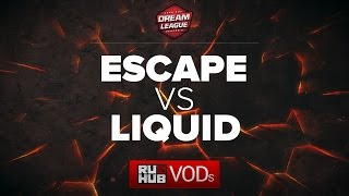 Escape vs Liquid, DreamLeague Season 6, game 2