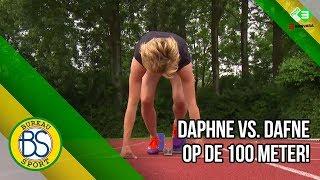 Download Video Voetbalster Daphne Koster loopt 100m tegen Dafne Schippers! MP3 3GP MP4