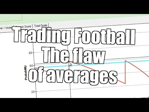 Trading on football matches – The flaw of averages