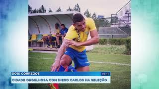 Jogador de Dois Córregos vai defender seleção brasileira de futebol