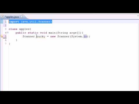 Java Programming Tutorial – 6 – Getting User Input