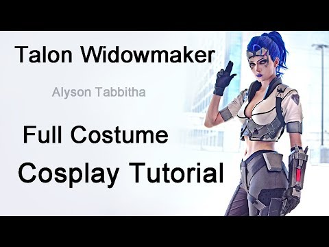 (Overwatch) Talon Widowmaker Costume Guide - Cosplay Tutorial