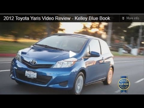 2012 Toyota Yaris Video Review – Kelley Blue Book
