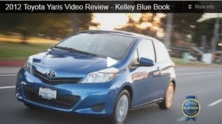 2012 Toyota Yaris Video Review - Kelley Blue Book