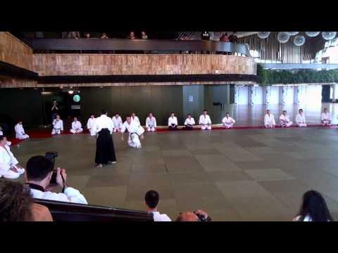 Aikido yoshinkan: Nagano sensei demonstration