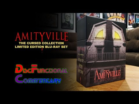 Amityville: The Cursed Collection (Limited Edition Blu-ray set from Vinegar Syndrome)