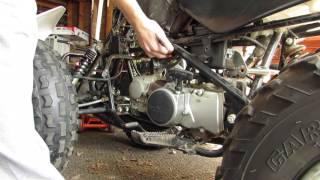 7. Honda TRX90 project part 12
