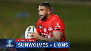 Sunwolves v Lions Rd.6 2019 Super rugby video highlights | Super Rugby Video Highlights