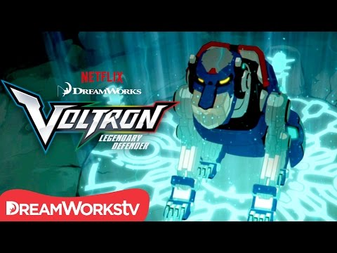 Voltron: Legendary Defender Season 1 (Clip 'Finding the Blue Lion')