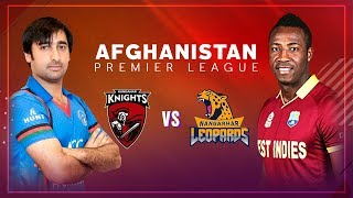 APLT20 2018 M13: Kandahar Knights v Nangarhar Leopards  Live Stream, Afghanistan Premier League T20