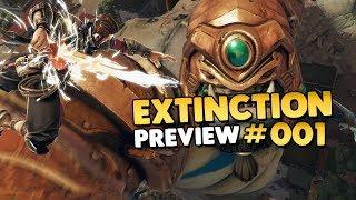 Let's Play Extinction - Preview • #001 [Gameplay][Deutsch][German]