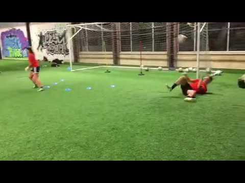 Footwork, playing with the feet, collapse dive, and spin recovery