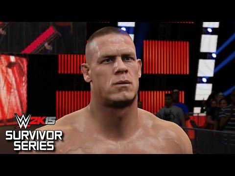 WWE 2K15 Survivor Series 2014: Team Cena vs Team Authority (Featuring Six UPDATED Attires!)