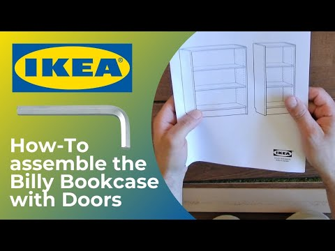 Ikea Billy Bookcase - Book Shelf with Doors | How to assemble 🛠️ | Thompson Tutorial