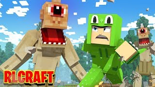 EATEN by a CYCLOPS?! (RLcraft #7)