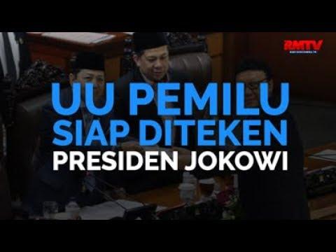 UU Pemilu Siap Diteken Presiden Jokowi