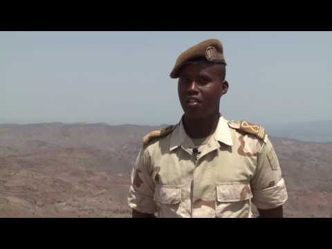 The Camp Lemonnier Civil Affairs team taught Djiboutian cadets the fundamentals of CMIC--Civil Military Cooperation--in a six-week course in preparation for when the cadets deploy to Somalia.