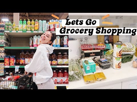 COME GROCERY SHOPPING WITH ME | Healthy Food Haul + Diet Staples