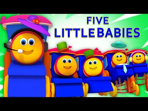 Bob The Train Indonesia | bob lima bayi kecil | Lagu Anak | Bob Five Little Babies