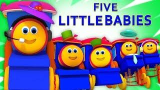Video Bob The Train Indonesia | bob lima bayi kecil | Lagu Anak | Bob Five Little Babies MP3, 3GP, MP4, WEBM, AVI, FLV Januari 2019