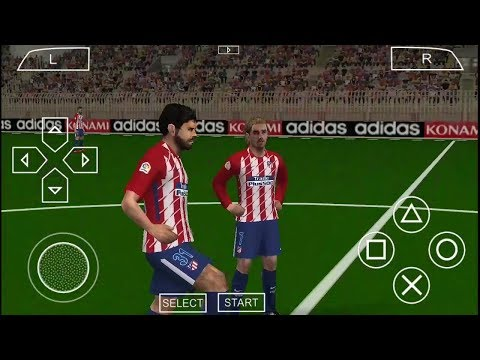 PES 2018 Android 550 MB High Graphics Offline [No Lag]