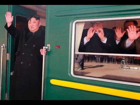 Nordkorea / USA: Kim Jong-un fährt drei Tage mit dem  ...
