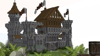 NEW Minecraft Medieval Castle! #Future Tutorial?