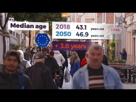 Οι δημογραφικές προκλήσεις στην Ευρώπη λόγω της γήρανσης του πληθυσμού…