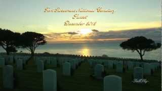 Fort Rosecrans National Cemetery, Sunset Time-Lapse, December 2012