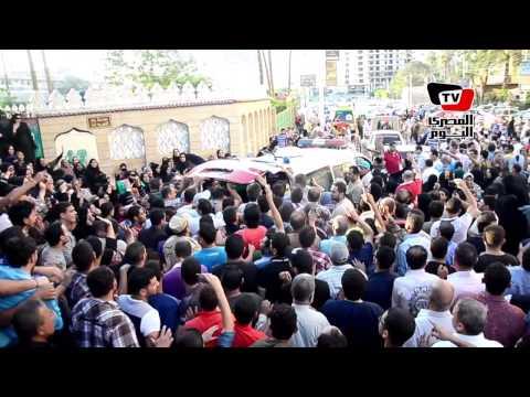 جنازة الشهيد «عبد الرحمن» الذى قتل ١٢ تكفيرياً