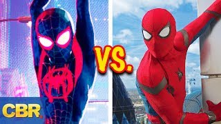 Video 10 Differences Between Spider-Verse And MCU Spider-Man MP3, 3GP, MP4, WEBM, AVI, FLV Desember 2018