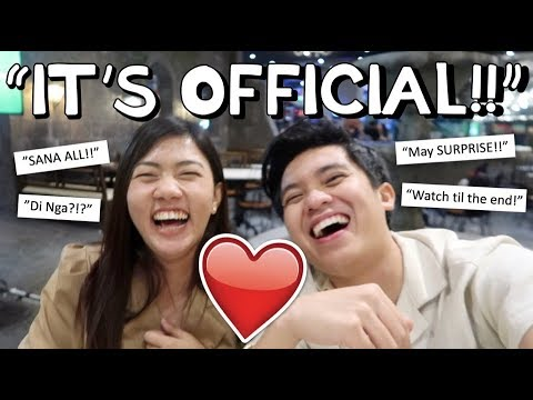 IT'S OFFICIAL!! 🙈❤️ PARTNERS NA!! 🙌🏻✨   Kimpoy Feliciano