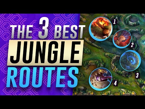 3 STRONG Jungle Routes & Clears For Season 11 | League of Legends Jungle Guide