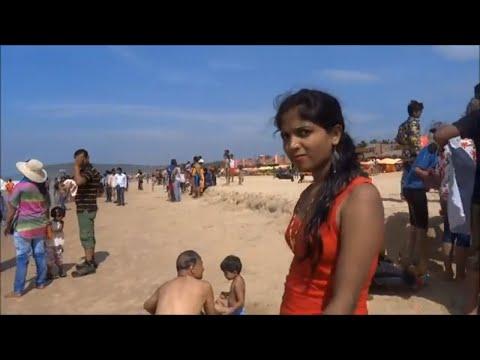 Video Calangute Beach Goa India download in MP3, 3GP, MP4, WEBM, AVI, FLV January 2017