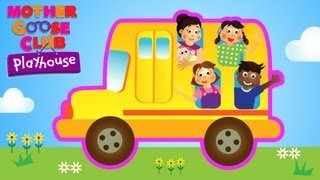Wheels on the Bus   Mother Goose Club  Playhouse Kids Video