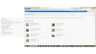 Ignite Webcast, SharePoint Social Features