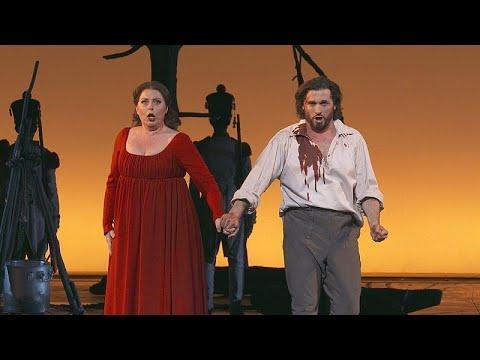 Puccinis »Tosca« in der Pariser Opéra Bastille - fesselnd ...