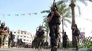 Islamic Jihad parades to mark 2012 Israel-Gaza War