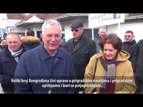 Шутановац и Ракић-Водинелић: Наша решења за аграр! (14.01.2018.)