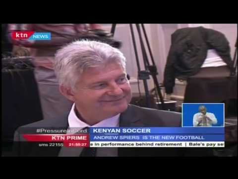 Former Romania U-20 Head Coach, Andrew Spiers is unveiled as the new Kenya Team technical director