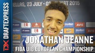 Jonathan Jeanne 2015 FIBA U18 European Championship Interview