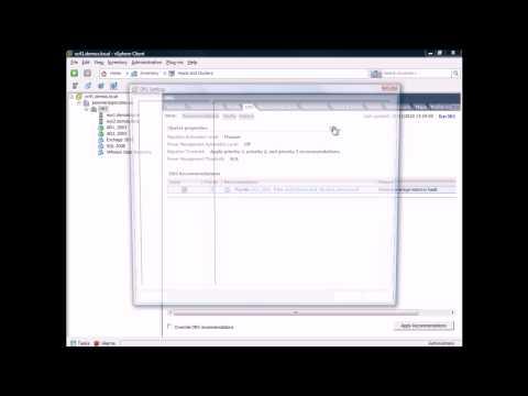 Las políticas de anti-afinidad de un clúster VMware DRS