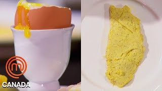Video An Omelette, Poached Egg & Soft Boiled Egg In 8 Minutes! | MasterChef Canada | MasterChef World MP3, 3GP, MP4, WEBM, AVI, FLV Mei 2019