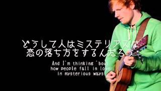Video 【洋楽劇場】Thinking Out Loud / Ed Sheeran 歌詞&日本語訳 download in MP3, 3GP, MP4, WEBM, AVI, FLV Februari 2017