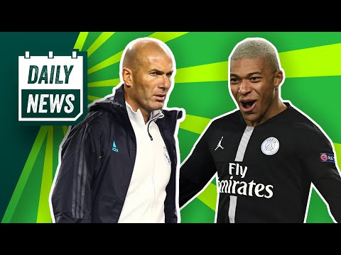 Champions League draw! Real Madrid spending spree + Mbappé on the move?