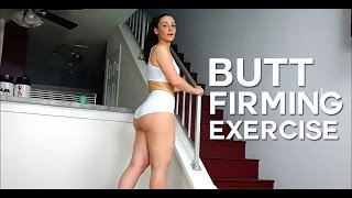 All Natural Butt Lift Workout: Ankle Weight Kick Backs, great exercise routine you can do at home, to firm buttocks. Get rid of cellulite wit these exercises.