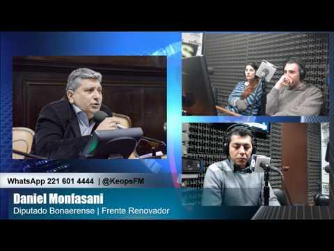 """Monfasani: """"Queremos que Sergio Massa sea candidato a Senador Nacional"""""""