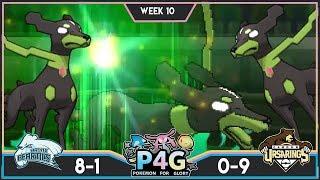 WHO LET THE DOGS OUT! Bronx Beartics vs Ursarings! P4G S3W10! Pokemon Ultra Sun & Moon Wi-Fi Battle by PokeaimMD