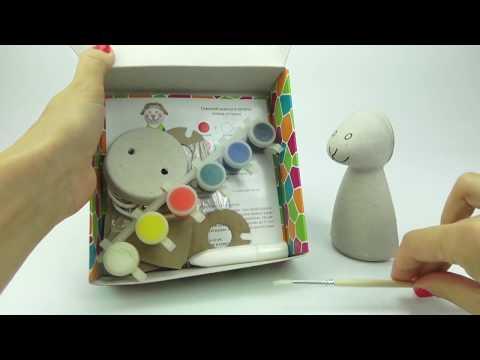 Рукоделие для детей  Раскрашиваем овечку  Распаковка игрушки  Развивающее видео для малышей