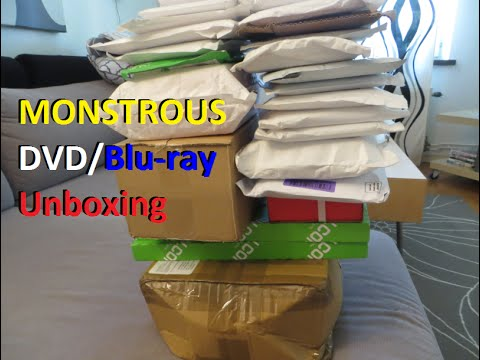 Monstrous DVD/Blu-ray Unboxing - Part 2